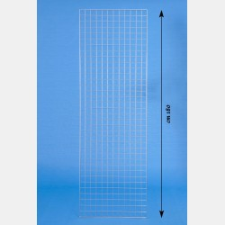 "CHROME GRIDWALL PANEL ""GRIP"" 60X180CM"