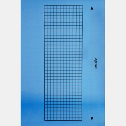 BLACK GRIDWALL PANEL GRIP 60X180CM