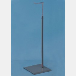 BIG METALLIC GREY DISPLAY STAND FOR HANDBAGS