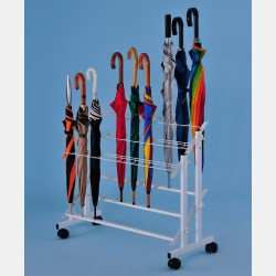 UMBRELLA DISPLAY RACK WITH 48 SPACES