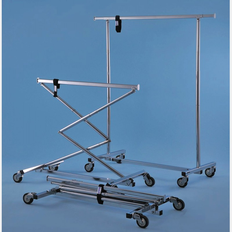 COLLAPSIBLE CLOTHES RAIL FASTER BIG