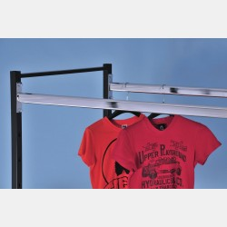 UPPER CHROME HANGING BAR - DOUBLE PAL SYSTEM
