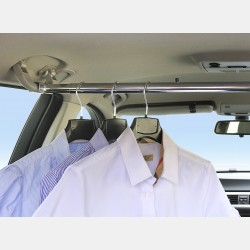 CLOTHES HANGER BAR FOR CARS