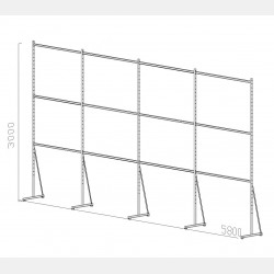 SHELVING ISEO UNIT N.21