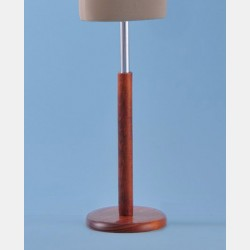 CHERRY WOOD STAND FOR TAILORS DUMMY