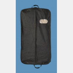 NON-WOVEN FABRIC GARMENT COVER WITH CLEAR WINDOW AND HANDLES