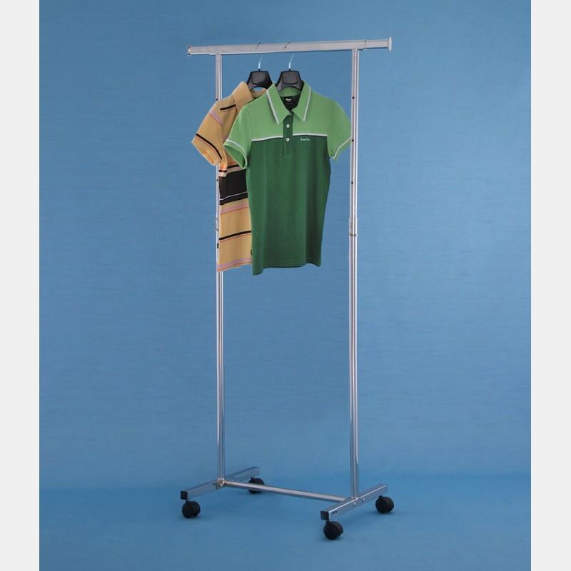 CHROME GARDA MINI CLOTHES RAIL