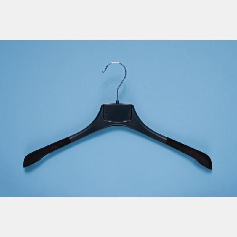 SHIRT NON-SLIP BLACK HANGER 40CM