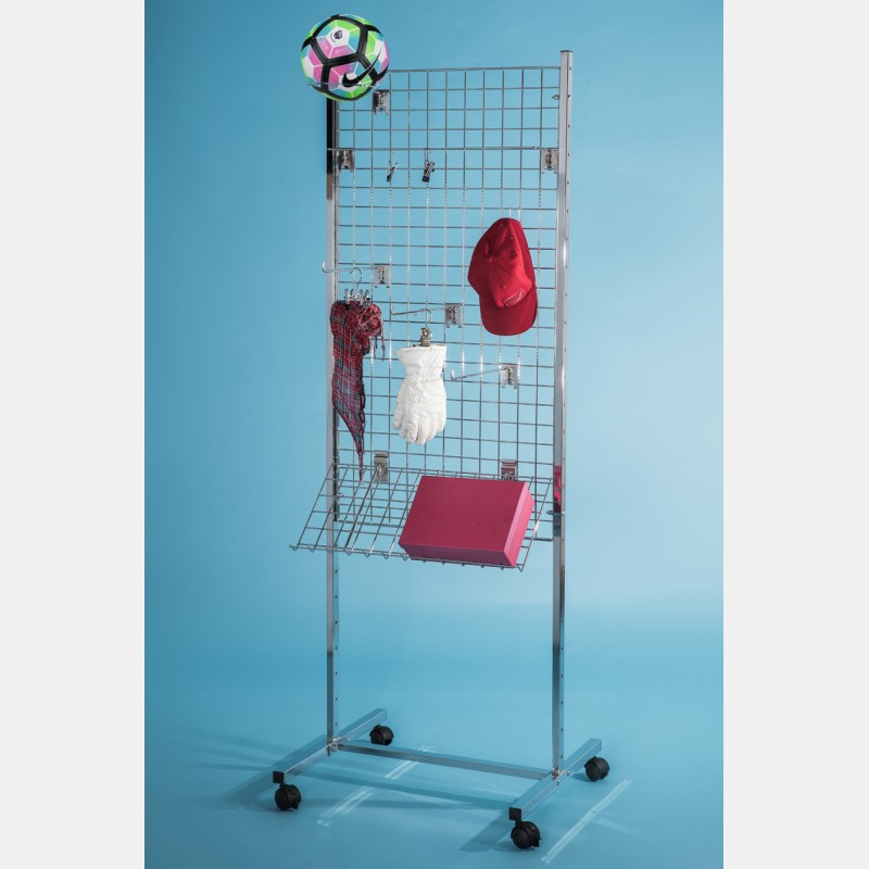 DUBLE-SIDED MESH 60X120CM ACCESSORY STAND