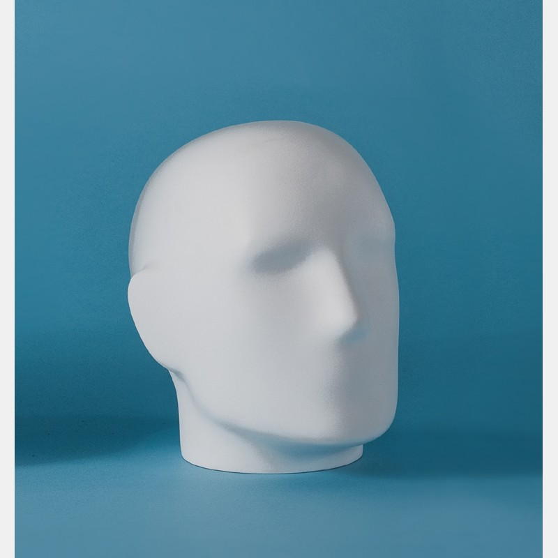 MALE MANNEQUIN DISPLAY HEAD