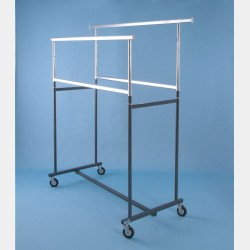 CLOTHING RACKS WITH 4 BARS