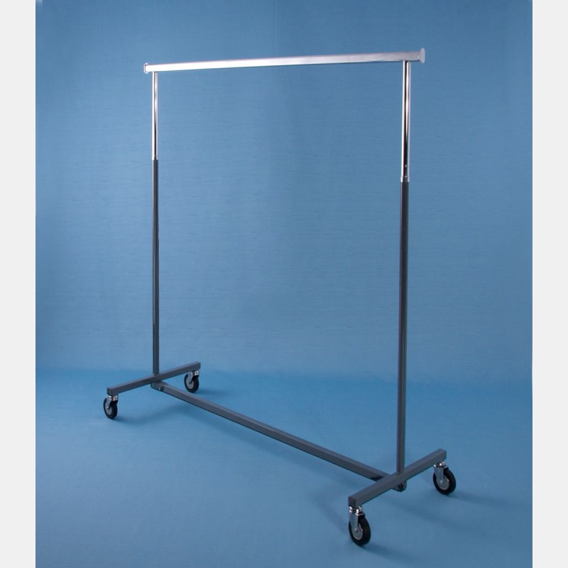 """GREY """"MAGGIORE"""" CLOTHES RAIL - FIXED HEIGHT"""
