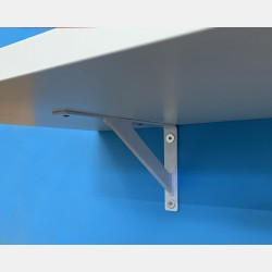WALL MOUNTED BRACKET FOR WOOD SHELVES