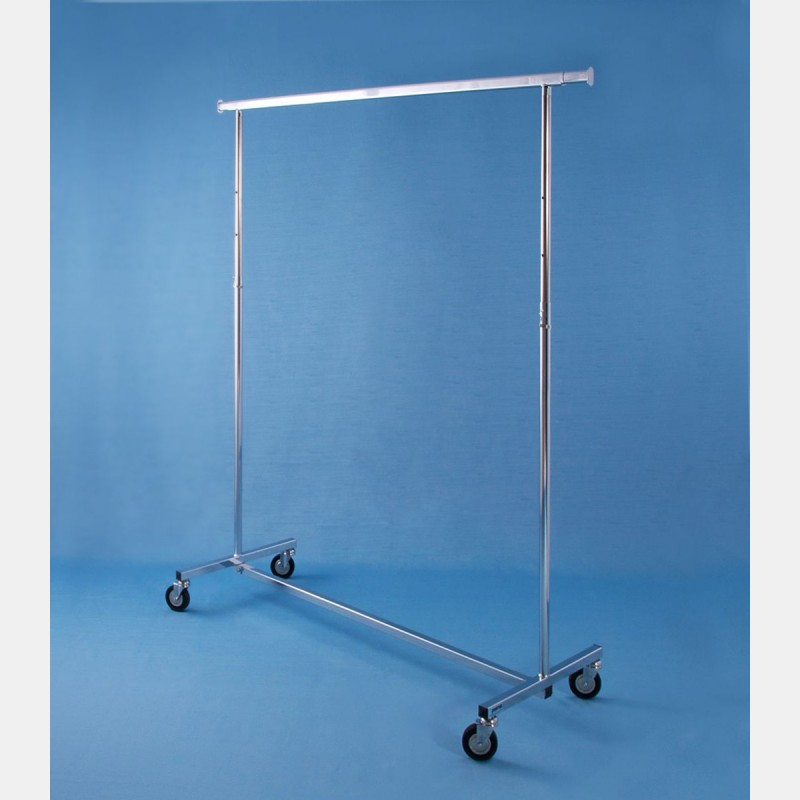 """GREY """"MAGGIORE"""" CLOTHES RAIL - ADJUSTABLE HEIGHT"""