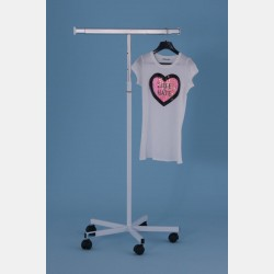 T-STAND CLOTHING RACK - ADJUSTABLE BAR