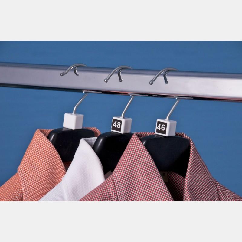 SIZE CUBES FOR CLOTHES HANGER