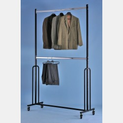 SUPER HEAVY DUTY DOUBLE CLOTHES RAIL