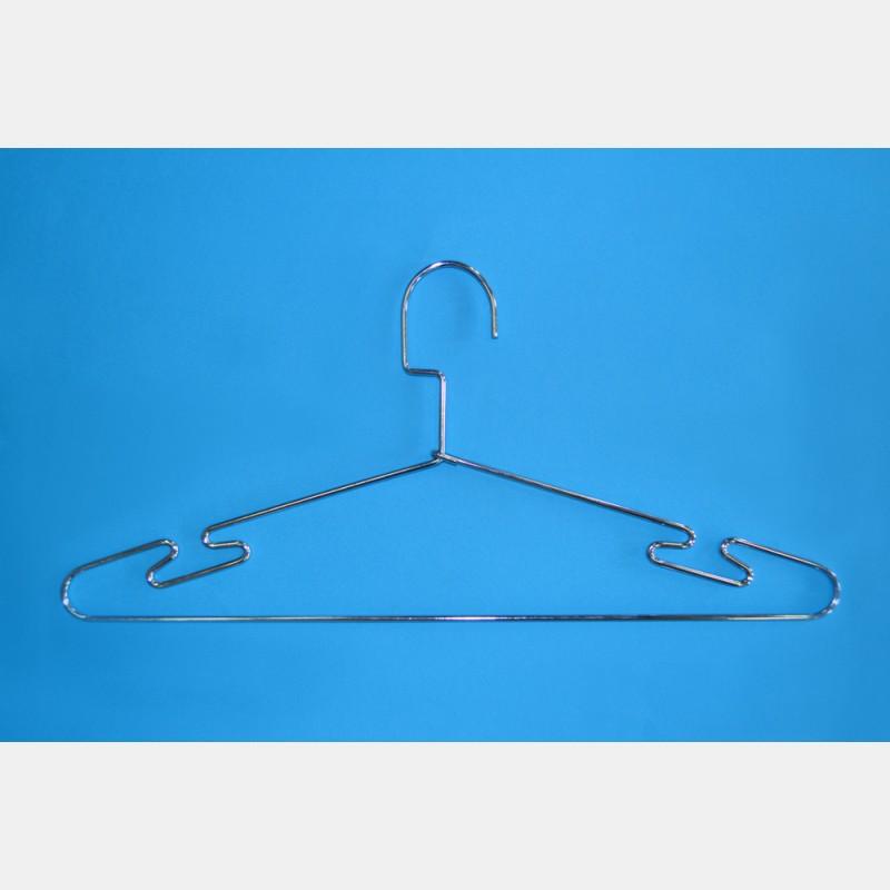 CHROME CLOTHES HANGER CM 46