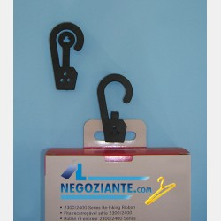 BLACK SNAP CLIP HOOK (200pcs)