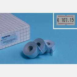 ETICHETTE 21X12 BIANCHE 10000pz X ART.4035 (10 ROTOLI X 1000pz)