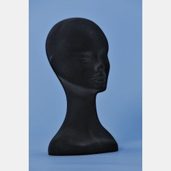 BLACK VELVET FEMALE DISPLAY HEAD