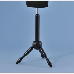 BLACK WOODEN TRIPOD STAND FOR TAILORS DUMMY