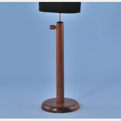 WALNUT WOOD STAND FOR TAILORS DUMMY
