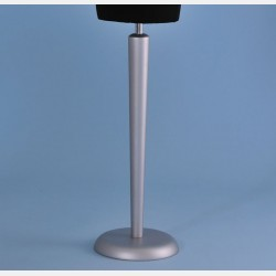 SILVER WOOD CONICAL STAND FOR TAILORS DUMMY