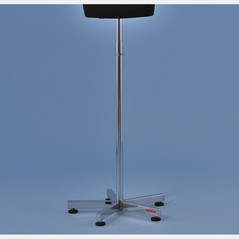 CHROME 5-STAR STAND IN METAL FOR TAILORS DUMMY