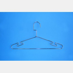 CHROME CLOTHES HANGER CM 40